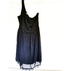 Xhilaration one shoulder cocktail dress